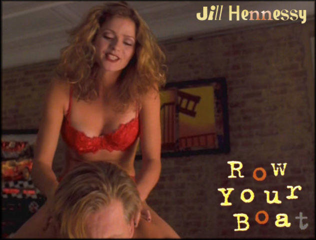 Jill Hennessy topless photoshoot