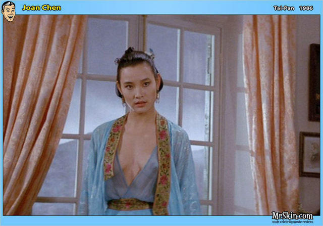 celebritie Joan Chen young lewd image in public