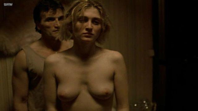 models Julie Gayet 20 years undressed photography home