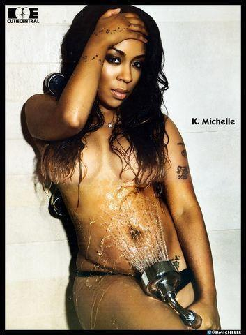 K. Michelle topless art
