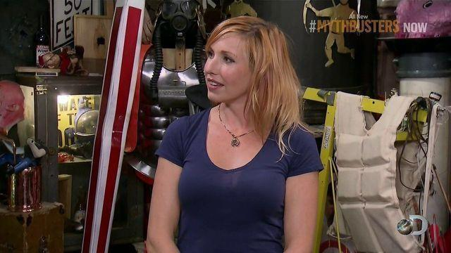 actress Kari Byron 23 years tits picture home