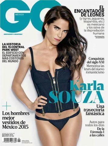 celebritie Karla Souza 2015 bawdy photos home