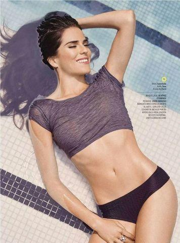 models Karla Souza 18 years crude photo home