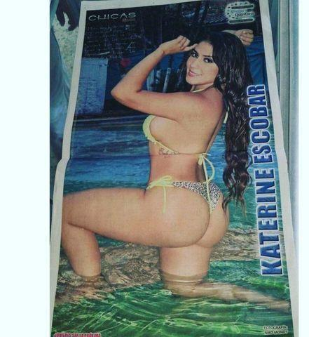 actress Kate Escobar 25 years concupiscent snapshot beach