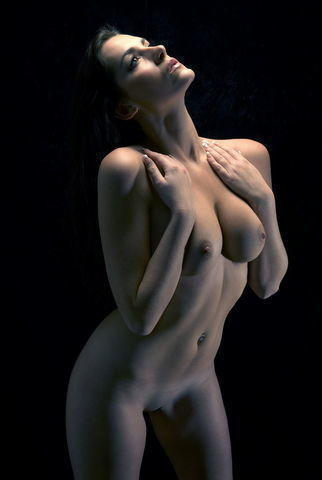 Naked Katie Green art