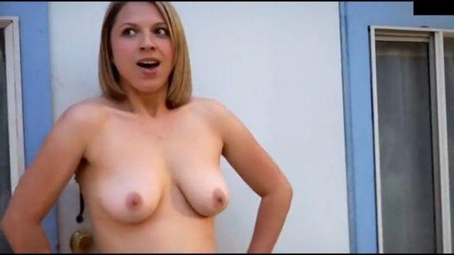 celebritie Katie L Hall 22 years breasts snapshot home