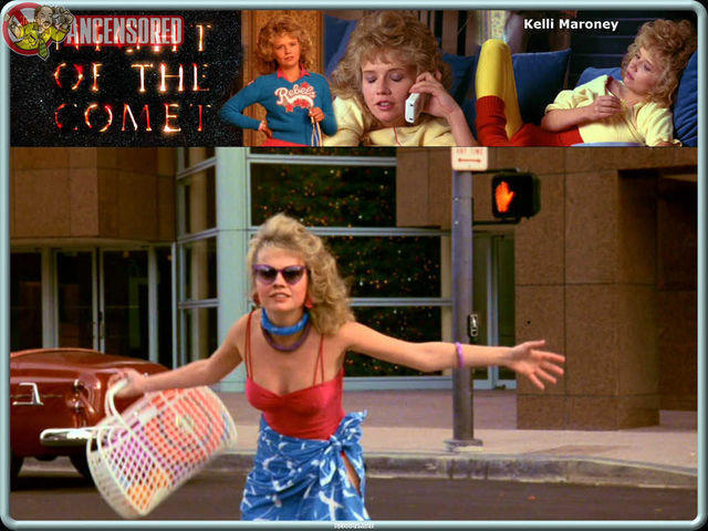 celebritie Kelli Maroney 18 years lecherous snapshot in public