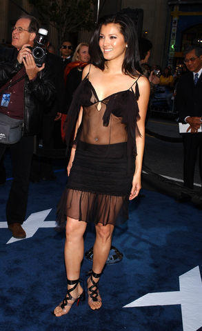celebritie Kelly Hu 21 years naked pics in public