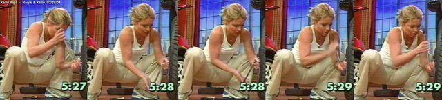 celebritie Kelly Ripa 19 years melons image home
