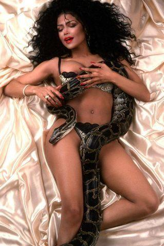 Naked La Toya Jackson photo