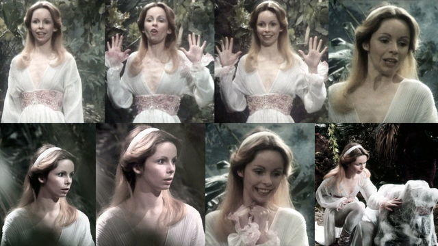 Lalla Ward topless photo