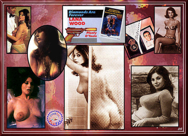 celebritie Lana Wood 23 years sensual photo home