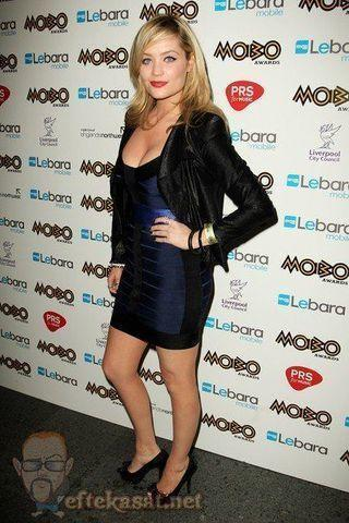 celebritie Laura Whitmore young tits art in the club