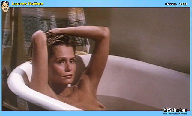 actress Lauren Hutton young bare image in the club