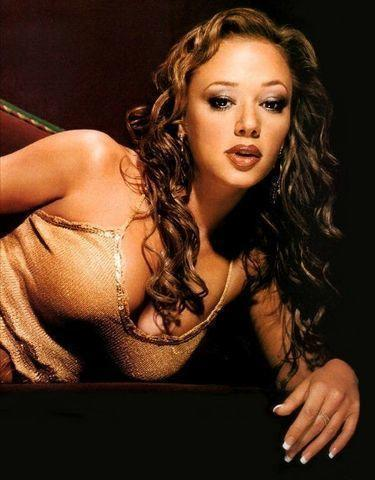 models Leah Remini 19 years bust photos beach