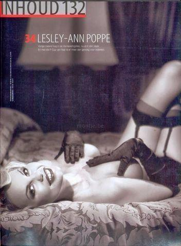 celebritie Lesley-Ann Poppe young nude foto in the club