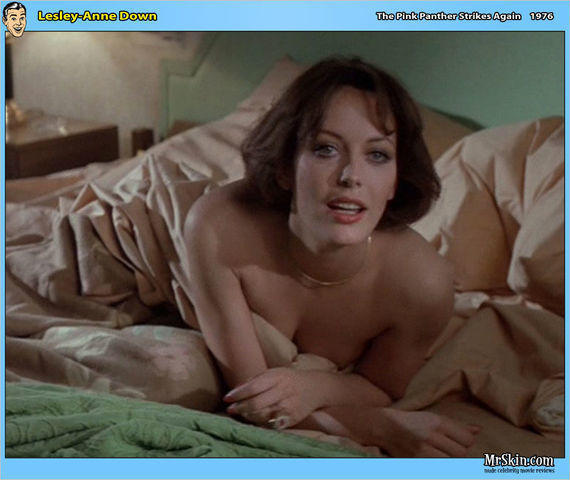Hot picture Lesley-Anne Down tits