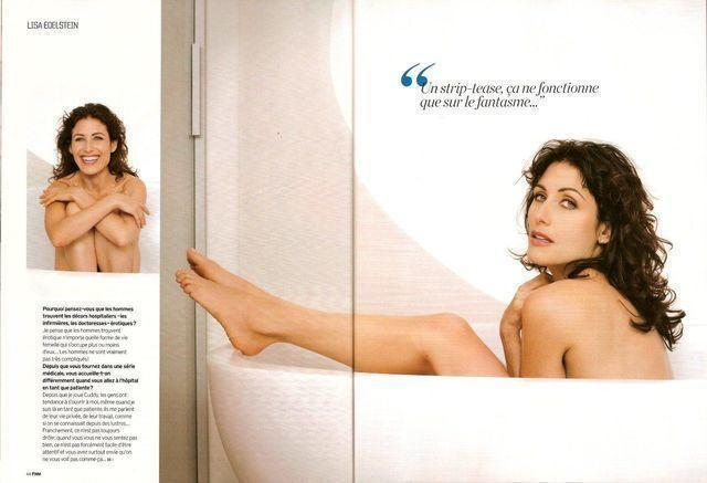 Naked Lisa Edelstein photography