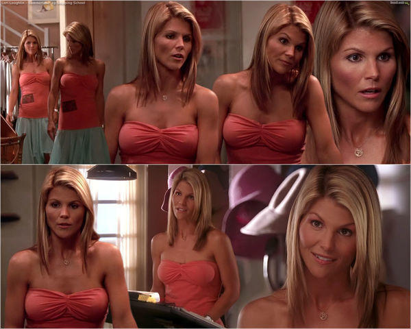 models Lori Loughlin 22 years spicy image in public