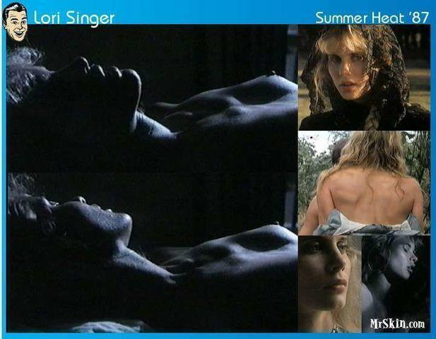 models Lori Singer 18 years stolen image beach