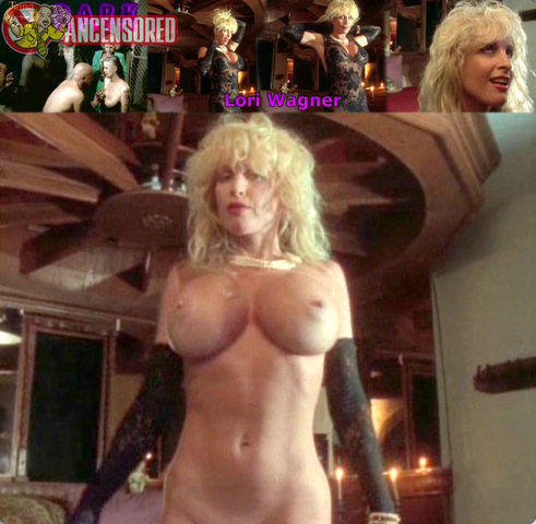 actress Lori Wagner 24 years titties photos in public