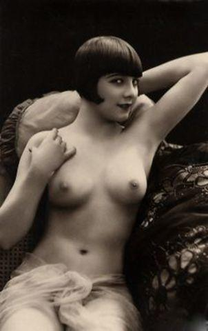 Hot art Louise Brooks tits