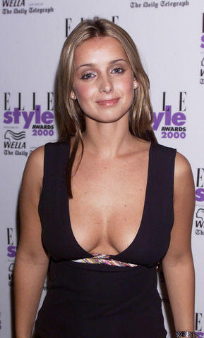 actress Louise Redknapp 20 years prurient photoshoot in public