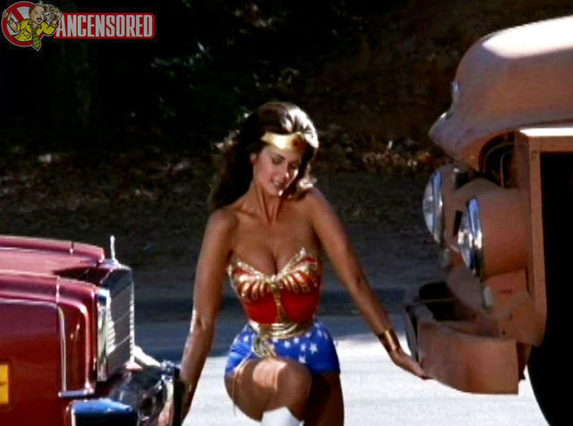 models Lynda Carter young amative picture in public