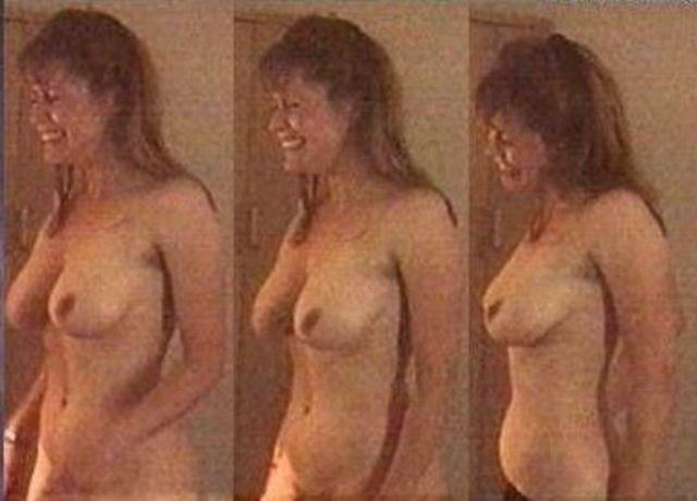 actress Maggie O'Neill 22 years Without bra image in public