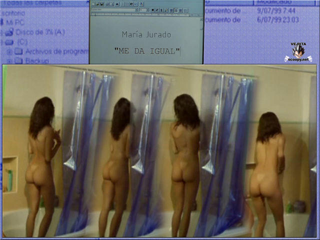 models María Jurado 21 years uncovered pics home