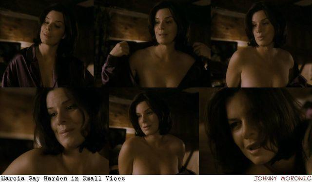 models Marcia Gay Harden 18 years sky-clad pics in the club