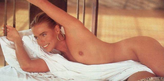 actress Margaux Hemingway 18 years undressed photos in the club