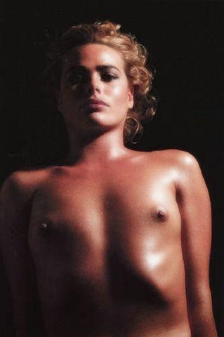 models Margaux Hemingway young sensuous image in public