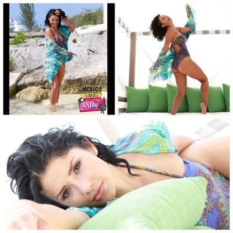 actress Maria Fernanda Quiroz 2015 melons art beach