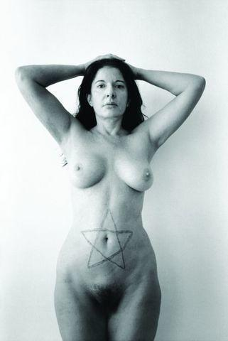 Naked Marina Abramovic photos
