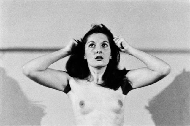 models Marina Abramovic 21 years obscene pics home
