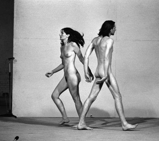 models Marina Abramovic 18 years provoking photos home
