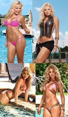 celebritie Marjorie de Sousa 24 years Without bra picture beach