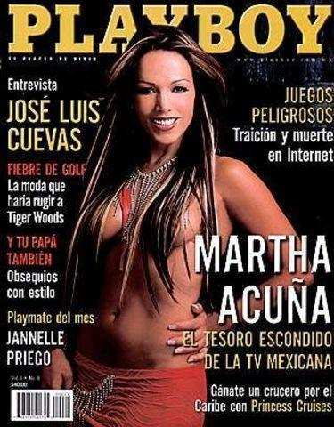 celebritie Martha Acuña 20 years disclosed image in the club