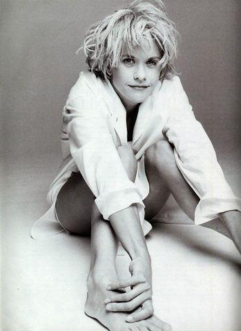 models Meg Ryan 18 years inviting image in public