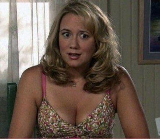 actress Megyn Price 23 years disclosed snapshot beach