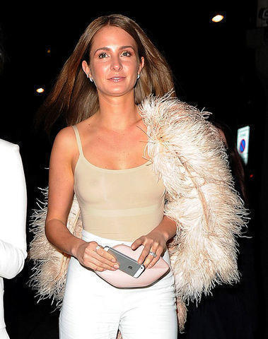 models Millie Mackintosh teen buck naked art in public