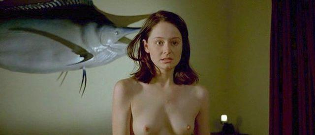 celebritie Miranda Otto 20 years Without panties snapshot in public