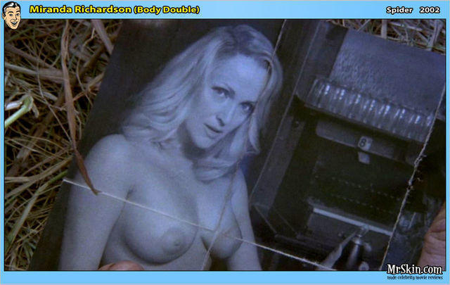 actress Miranda Richardson 22 years Without brassiere snapshot home