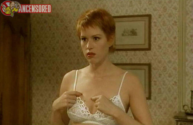 models Molly Ringwald young arousing image in public