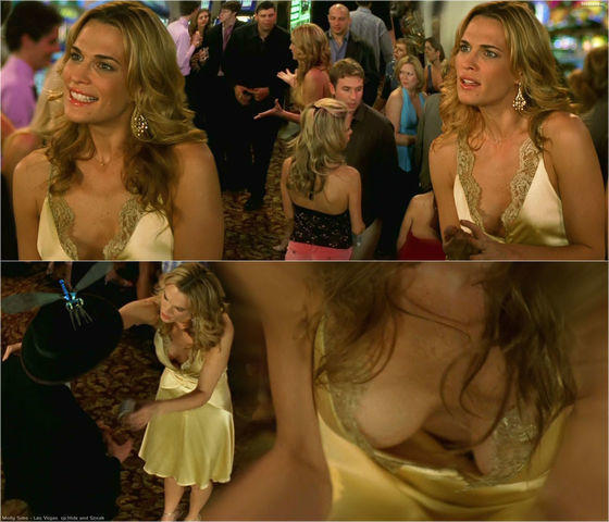 celebritie Molly Sims 25 years crude snapshot in the club