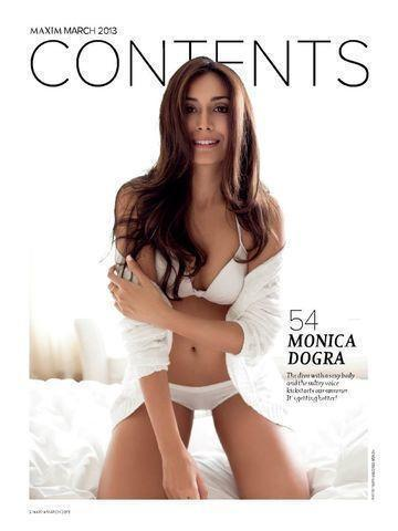 Hot photography Monica Dogra tits
