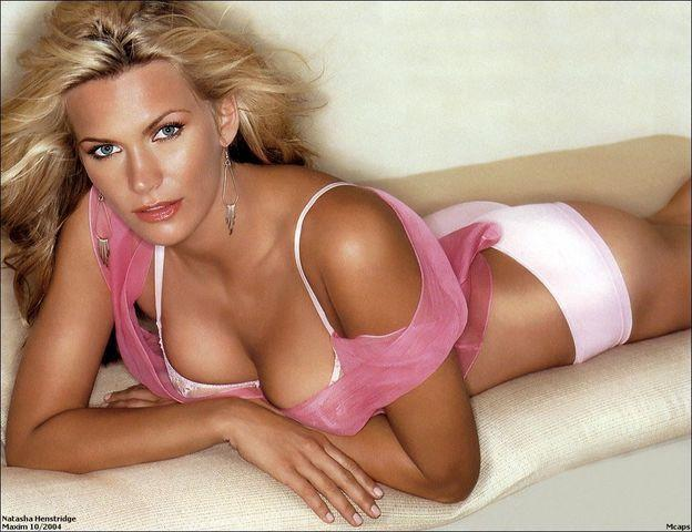 models Natasha Henstridge young inviting image beach