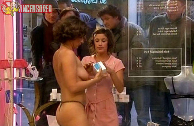 celebritie Nathalie Grandhomme young salacious photo in public