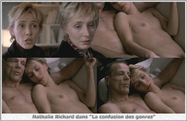 celebritie Nathalie Richard young naturism photo in public